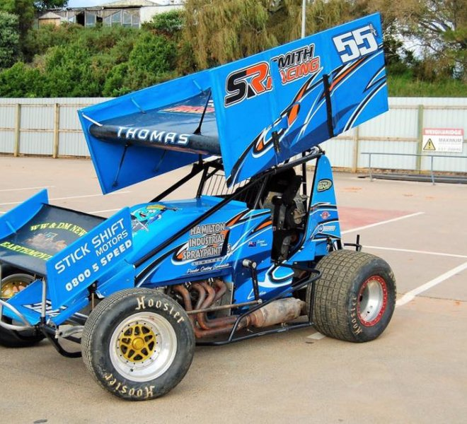 Daniel Thomas Racing Team Sprintcar